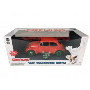 GREMLINS DieCast Model Car VOLKSWAGEN BEETLE 1967 CHASE VERSION With GIZMO Figure Scale 1/24 GREENLIGHT