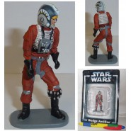 LEAD Metal Figure WEDGE ANTILLES Original STAR WARS SERIE 1 DE AGOSTINI Italy