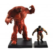 SASQUATCH and PUCK Rare Figures LEAD 10cm Limited Edition SPECIAL Serie MARVEL Eaglemoss