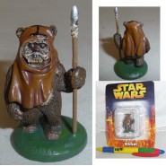 LEAD Metal Figure WICKET Original STAR WARS SERIE 1 DE AGOSTINI Italy
