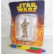 LEAD Metal Figure C-3PO Original STAR WARS SERIE 1 DE AGOSTINI Italy