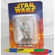 LEAD Metal Figure LUKE SKYWALKER Original STAR WARS SERIE 1 DE AGOSTINI Italy