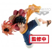 MONKEY D LUFFY GX MATERIA Figure Statue 20cm ONE PIECE Original BANPRESTO