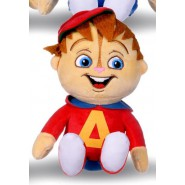Plush 32cm ALVIN from Alvin and the CHIPMUNKS Peluche Original WhiteHouse