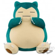 POKEMON Rare Big Plush Soft Toy SNORLAX 40cm Original BANPRESTO Japan