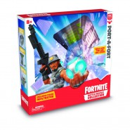 FORTNITE Diorama Playset PORT-A-FORT with figure INFILTRATOR Exclusive BATTLE ROYAL COLLECTION