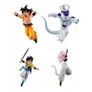 DRAGONBALL SUPER Complete Set 4 FIGURES Versus Battle Figure SERIES 10 Bandai Gashapon