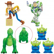 TOY STORY SET 6 FIGURES Collection 2-7cm Buzz Lightyear Woody Rex Aliens Gashapon TOMY Japan DISNEY