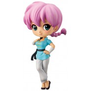 Figure Statue 14cm SAOTOME RANMA 1/2 QPOSKET Banpresto Special Color Light Blue Dress Version B Manga