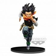 DRAGON BALL Figure Statue Android 17 17cm COLOR Version BWFC BUDOKAI 2 Vol. 3 Banpresto Dragon Ball