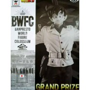 DRAGON BALL Figure Statue SON GOKOU 18cm GRAND PRIZE BLACK & WHITE Version BWFC BUDOKAI 2 Vol. 4 Banpresto Dragon Ball