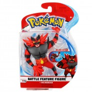 POKEMON Collector BATTLE Figure INFERNO Felinferno Fuegro 9cm Original WCT