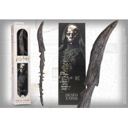 Harry Potter DEATH EATER (Thorn) Replica MAGICAL WAND With 3D BOOMARK Original NOBLE COLLECTION NN6317