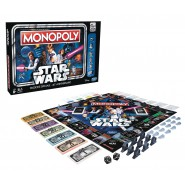 MONOPOLY Special Version STAR WARS 40. ANNIVERSARY Game ITALIAN Hasbro