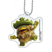 LUDICOLO POKEMON Keychain From DETECTIVE PIKACHU Collection 5cm BANDAI