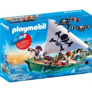 Playset PIRATES SHIP Vessel With Underwater Engine Pirates 70151