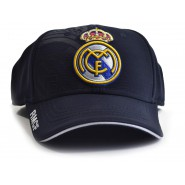 REAL MADRID C.F. Hat RMCF Cap OFFICIAL Bue Navy New ADULT SIZE
