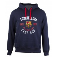 F.C. BARCELONA Hooded Sweatshirt Blaugrana Camp Nou Official Sweater HOODIE La Liga