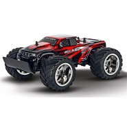Model HELL RIDER 30cm  Flying Wheel Truck Big Wheels Red Radiocontrolled R/C ORIGINAL Carrera 1:16 READY TO RUN