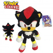 Peluche SHADOW THE HEDGEHOG Black Classic Version BIG 28cm ORIGINAL Sonic Sega