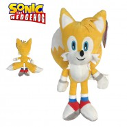 Peluche TAILS Miles Prower Fox Classic Version BIG 33cm ORIGINAL Sonic Hedgehog Sega
