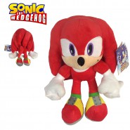 Peluche KNUCKLES Red 28cm ORIGINAL Sonic Hedgehog Sega