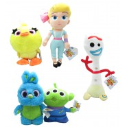 TOY STORY 4 Set 5 Plush 30cm Bo Peep Forky Alien Ducky Bunny ORIGINAL Disney Pixar