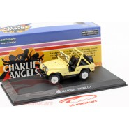 Model Julie Roger's 1980 JEEP CJ-5 From Serie CHARLIE'S ANGELS 9cm Scale 1/43 DieCast Greenlight