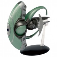 STAR TREK SPOCK'S JELLYFISH Space Ship Special 17cm Model DieCast EAGLEMOSS