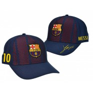 F.C. BARCELLONA Hat LIONEL LEO MESSI 10 Cap UFFICIALE New ADULT SIZE