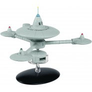 STAR TREK DEEP SPACE STATION K-7 Deep Space Ship Special UNITED FEDERATION PLANETS 14cm Model DieCast EAGLEMOSS
