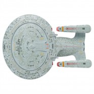 STAR TREK ENTERPRISE Starship Uss NCC 1701-D 14cm Model DieCast EAGLEMOSS