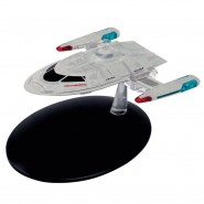 STAR TREK ENTERPRISE Starship U.S.S. NCC 1701-E Captain's YATCH 10cm Model DieCast EAGLEMOSS