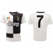 CRISTIANO RONALDO Number 7 JUVENTUS 2019/2020 T-Shirt Jersey HOME Official Replica CR7
