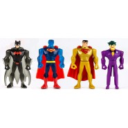 LOT 4 Mini Figures 5cm JUSTICE LEAGUE Mighty Minis Series 2 Characters Trading Figures CAKE TOPPERS Batman Joker