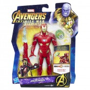 ACTION FIGURE IRON MAN 14cm Infinity Stone Marvel Original HASBRO E1406 Tony Stark Hero Vision