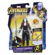 ACTION FIGURE GAMORA 14cm Infinity Stone Marvel Original HASBRO E1414 Hero Vision
