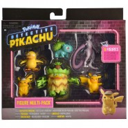 DETECTIVE PIKACHU Box 6 Mini Figures Pokemon Multi Pack 6 Characters Original WCT