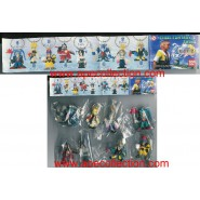 BANDAI Rare SET 8 Figures FINAL FANTASY 10 X SWING PART 1 Auron Tidus Yuna Rikku etc.