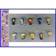 SET 8 Figure TITTI TWEETY AT WORK WEAR Mini Winnies Style ITALY Gashapon NEW MINT