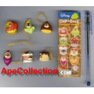 TOMY Set 6 Figures CHIP AND DALE Wear PART 2 DISNEY Danglers Disney Mini Winnies Wear Style