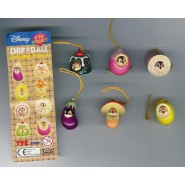 TOMY Set 6 Figures CHIP AND DALE Wear PART 3 DISNEY Danglers Disney Mini Winnies Wear Style