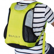 SPIRIT TECH Backpack with LIGHTS and SOUNDS Yellow 22 Liters 47cm