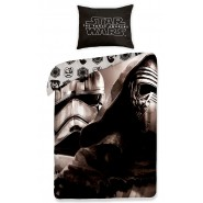 STAR WARS Bed Set KYLO REN and CLONE Trooper 160x200cm OFFICIAL Duvet Cover COTTON Disney