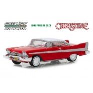 Model Car PLYMOUTH FURY 1958 Movie CHRISTINE Normal Version SCALE 1/64 Greenlight