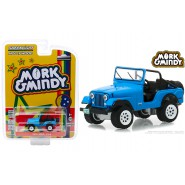 Model Car JEEP CJ-5 1972 from MORK and MINDY Normal Version SCALE 1/64 Greenlight