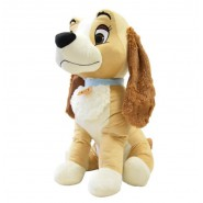 Plush LADY LILLY 60cm XXL Dog from LADY AND THE TRAMP Original OFFICIAL DISNEY Peluche