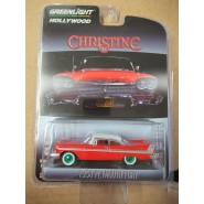Model Car PLYMOUTH FURY 1958 Movie CHRISTINE CHASE Version SCALE 1/64 Greenlight