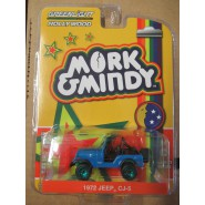 Model Car JEEP CJ-5 1972 from MORK and MINDY CHASE Version SCALE 1/64 Greenlight