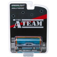 Model 1967 CHEVROLET IMPALA From TV-Series A-Team 8cm Scale 1/64 DieCast Greenlight